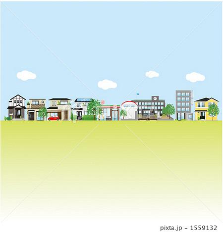 雑居ビル 建物 ビル クリップアートのイラスト素材 Pixta
