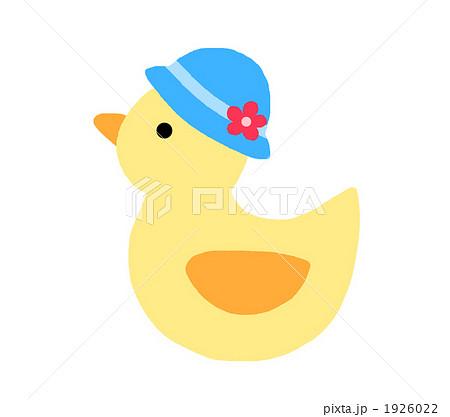 アヒル 鳥 小鳥 キャラクターのイラスト素材 Pixta