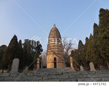 嵩岳寺塔の写真素材 - PIXTA