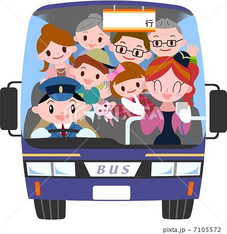 「バス旅行 イラスト」の画像検索結果