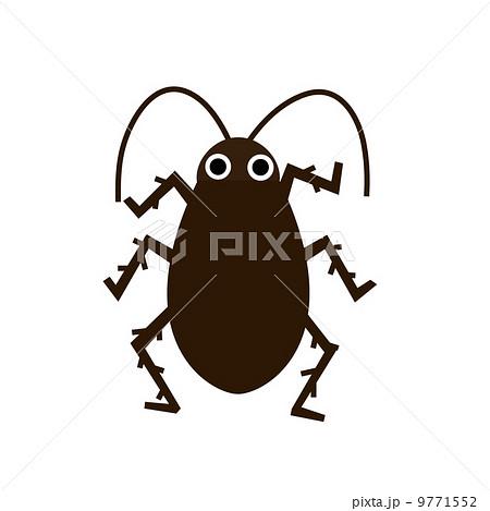 ゴキブリ かわいい イラスト デフォルメのイラスト素材 Pixta
