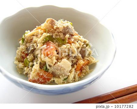 おからの煮物の写真素材 Pixta