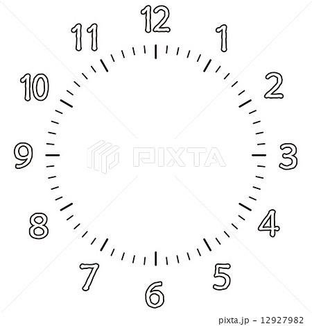 手表号码 图库插图12927982 Pixta