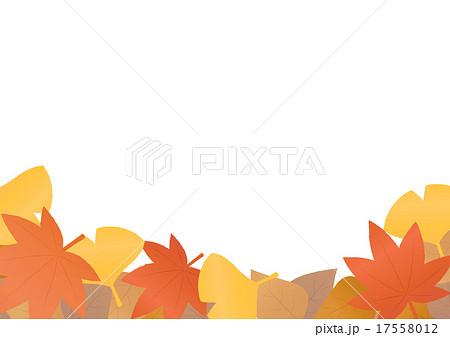 枯葉のイラスト素材 Pixta