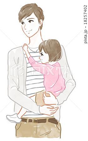 抱っこ 子供のイラスト素材 Pixta