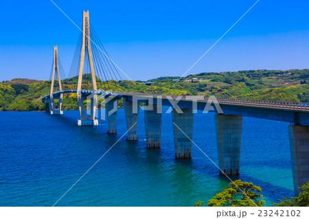 鷹島肥前大橋の写真素材 - PIXTA