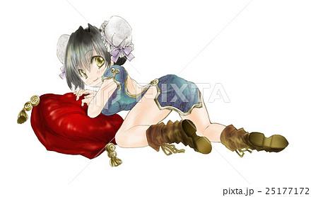 ドレス 女の子 萌えキャラ アニメのイラスト素材 , PIXTA