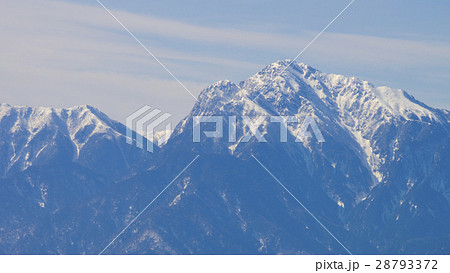 赤石山脈の写真素材 - PIXTA
