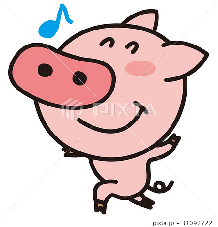 豚のイラスト素材集 Pixtaピクスタ