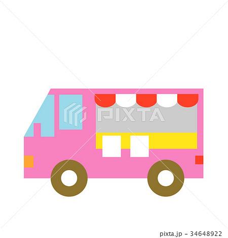 ケータリングカーのイラスト素材 Pixta