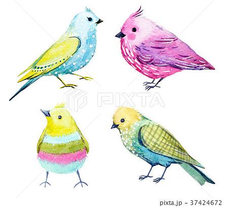 トップコレクション 鳥 イラスト おしゃれ 無料の Hd の壁紙